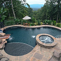 New Gunite and Concrete Pool Construction in Virginia