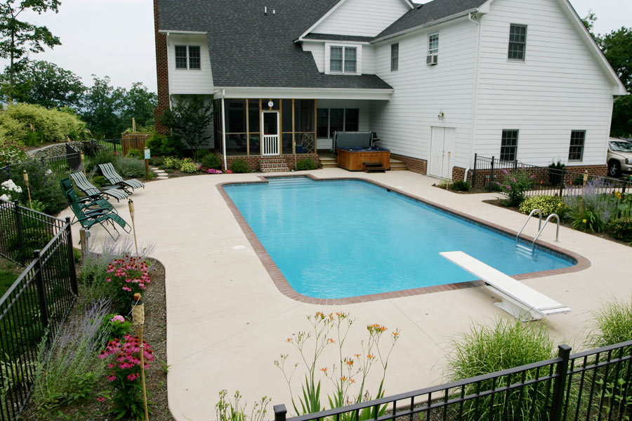 Modified Rectangular Pool