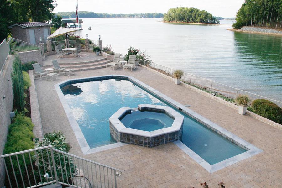 Modified Rectangular Pool