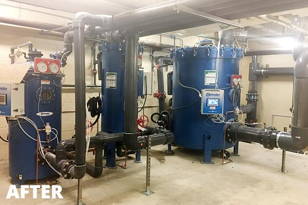 Pool Filter Room Upgrades