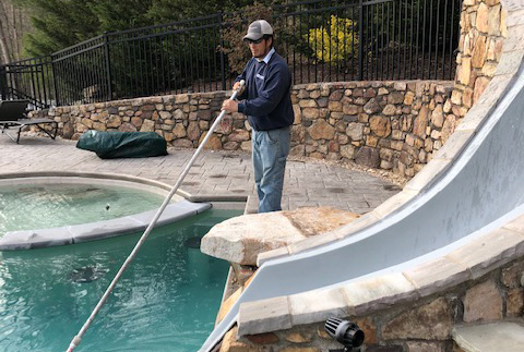 Routine Pool Maintenance